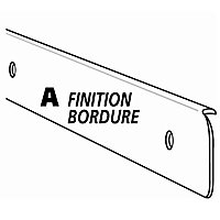 Profil de finition aluminium 28 mm