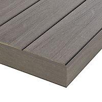 Profil de finition composite gris Blooma Hudson L.240 cm