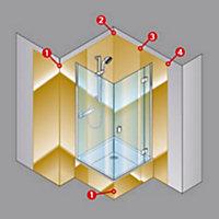 Profilé de jonction pour panneaux muraux Schulte DécoColor