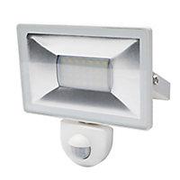 Projecteur à détection LED blanc 20W 1600 LM IP44