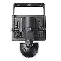 Projecteur à détection LED noir 10W 800 LM IP44