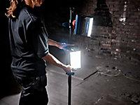 Projecteur de chantier double sur pied à LED filaire Erbauer Lewo 1600 lumens (20W)