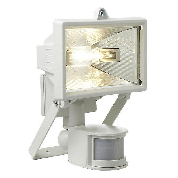 Projecteur Exterieur A Detection Akka Blanc 120 W Castorama