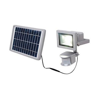 Projecteur Exterieur A Detection Blooma Negril Chrome Led 10w Castorama