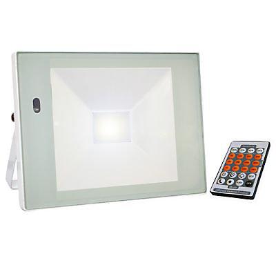 Projecteur Exterieur A Detection Tibelec Blanc Led 32w Castorama