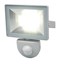 Projecteur extérieur gris à détection 10W 800LM