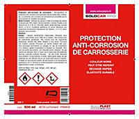 Protection anti-corrosion 0,5 L coloris noir