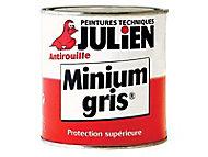 Protection antirouille métaux ferreux JULIEN Minium gris 0,125L