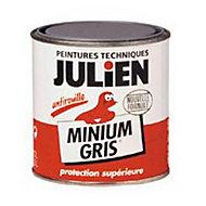 Protection antirouille métaux ferreux Julien Minium gris 0,25L