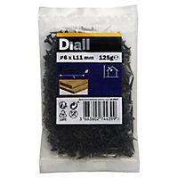 Punaises en acier noirci 6x11 - 125g
