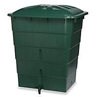 Récupérateur d'eau de pluie Garantia vert 300L