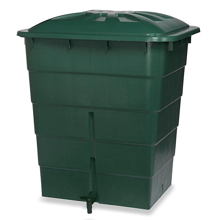 Recuperateur D Eau De Pluie Garantia Vert 300l Castorama
