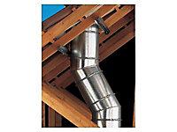 Réduction conique ø200 - 180 mm Poujoulat