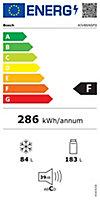 Réfrigérateur combiné encastrable Bosch KIV86NSF0 182L / 83L blanc