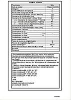 Réfrigérateur congélateur à poser Beko RDQSA240K30WN 177L / 46L