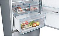 Réfrigérateur congélateur à poser Bosch KGN36VL35 237L / 87L inox