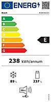 Réfrigérateur congélateur à poser Bosch KGN36VLEC 237L / 89L inox