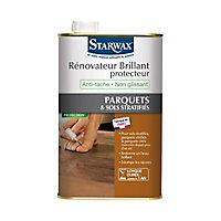 Rénovateur brillant protecteur parquets et sols stratifiés Starwax 1L