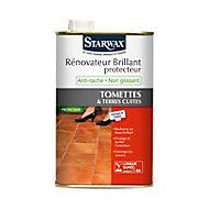 Rénovateur brillant protecteur tomettes et terres cuites Starwax 1L