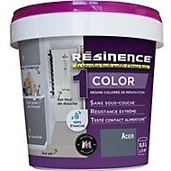 Résine colorée multisupports Acier Satiné 0,5L