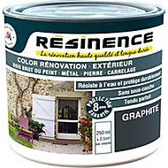 Résine de rénovation multi-support graphite satin Résinence 0,25L