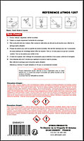 Résine de réparation Atmos éclat d'émail et porcelaine blanc 5ml