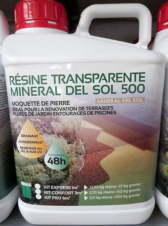 Resine Incolore Pour Moquette De Pierre 5 5kg Castorama