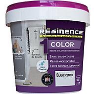 Résine multisupports Résinence Color blanc cendré satin 0,5L