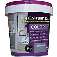 Résine multisupports Résinence Color gris taupe satin 0,25L