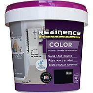Résine multisupports Résinence Color noir satin 0,5L