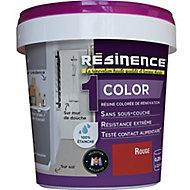 Résine multisupports Résinence Color rouge satin 0,25L