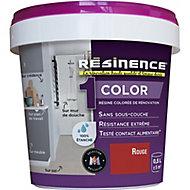 Résine multisupports Résinence Color rouge satin 0,5L