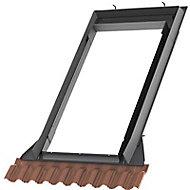Raccord de remplacement fenêtre de toit sur tuiles Velux EW SK06 0700C2 rouge brun