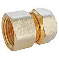 """Raccord droit à compression pour tube Multicouche Ø16 - droit femelle 15/21 (1/2"""")"""