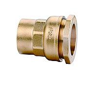 Raccord droit femelle Diall ø25 mm