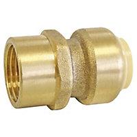 "Raccord femelle à clipser pour tube cuivre Ø14 - Femelle 15/21 (1/2"")"