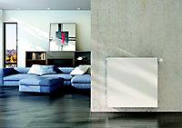 Radiateur acier eau chaude double plat blanc 1424W