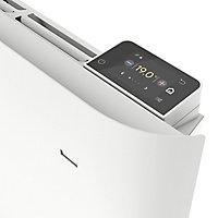 Radiateur connecté électrique à inertie sèche GoodHome Florya blanc 1500W horizontal