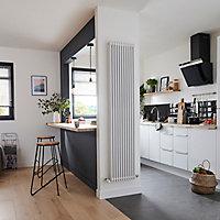Radiateur eau chaude GoodHome Kensal Vertical Blanc 1 117 W