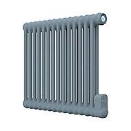 Radiateur électrique à inertie fluide GoodHome Mermoz bleu 1000W horizontal