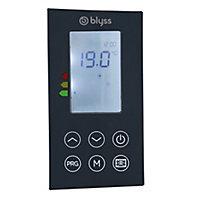 Radiateur électrique à inertie sèche Blyss Isando gris 1500W vertical
