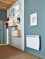 Radiateur électrique à inertie sèche + film chauffant 1500W