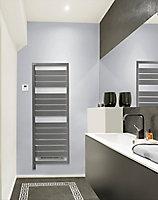 Radiateur sèche-serviettes électrique soufflant Acova Astrakan air gris 750 + 1000W