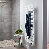 Radiateur sèche-serviettes électrique soufflant De'Longhi Ghibli blanc 1700W
