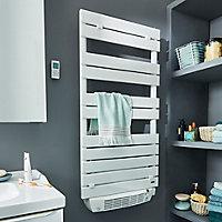 Radiateur sèche-serviettes électrique soufflant De'Longhi Phorum blanc 1500W