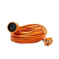 Rallonge orange H05VVF 3G1 5mm² 15m