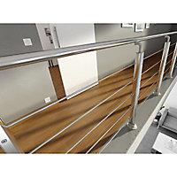 Rampe aluminium poli Inoline 200cm