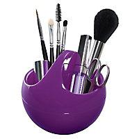 Range maquillage plastique violet Spirella Bowl