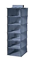 Range-pulls à supendre Pratik 6 cases bleu l. 30 x P. 30 x H. 90 cm