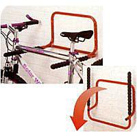 Range-vélos mural rabattable 2 vélos B053QRA